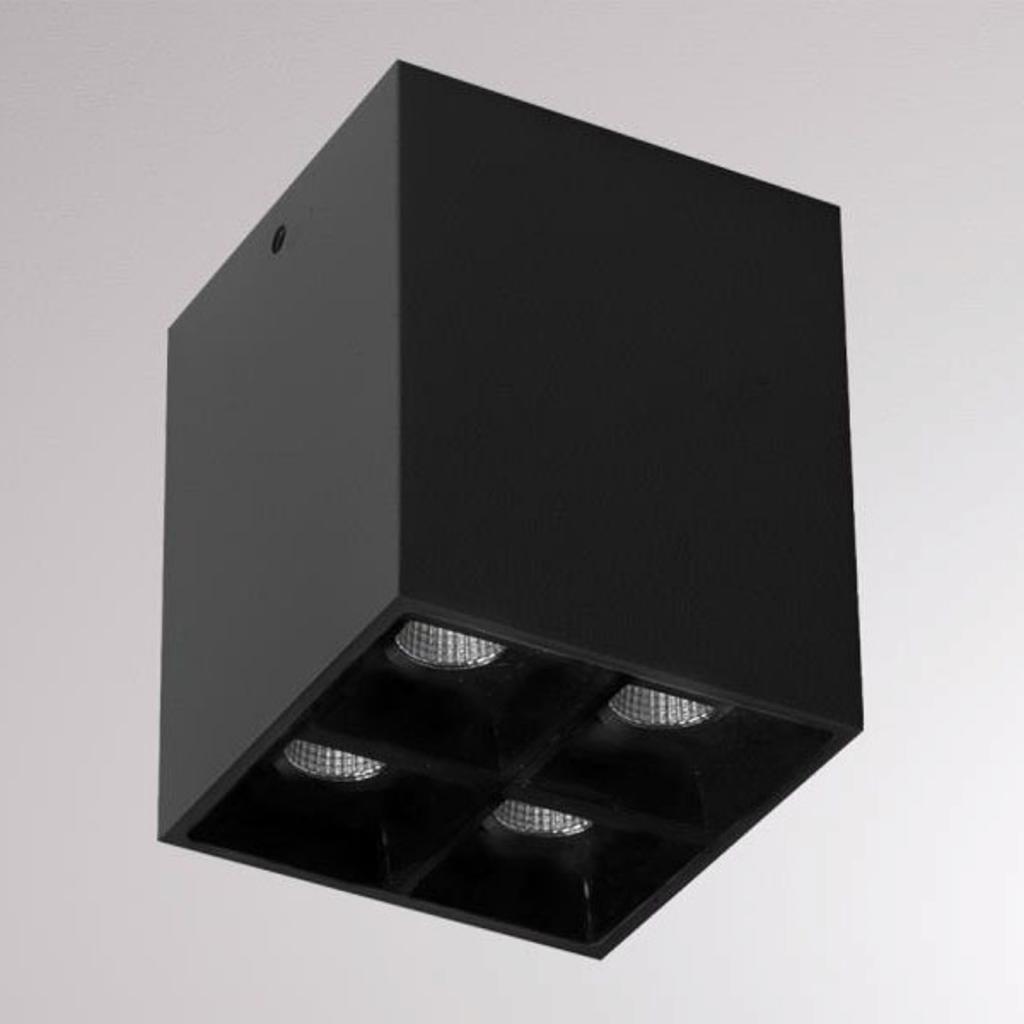 Produktové foto Molto Luce LOUM Liro LED stropní reflektor černá 34° 3000 K