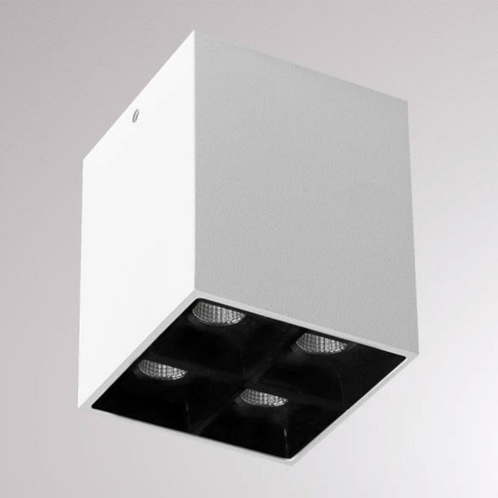 Produktové foto Molto Luce LOUM Liro LED stropní spot bílá/černá 34° 2700K