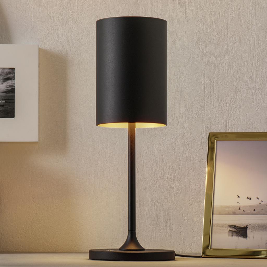 Produktové foto LOUM LOUM Pokula LED stolní lampa černá/zlatá