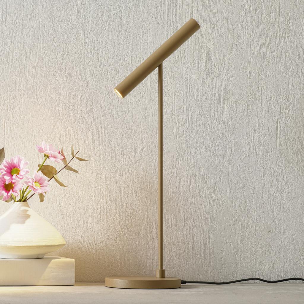 Produktové foto LOUM LOUM Meyjo LED stolní lampa senzor stmívání terra