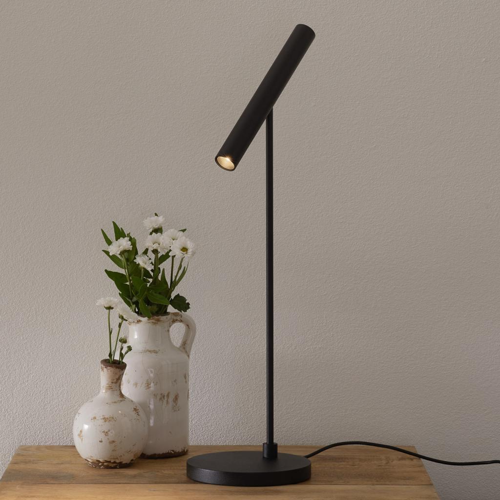 Produktové foto LOUM LOUM Meyjo LED stolní lampa senzor stmívání černá