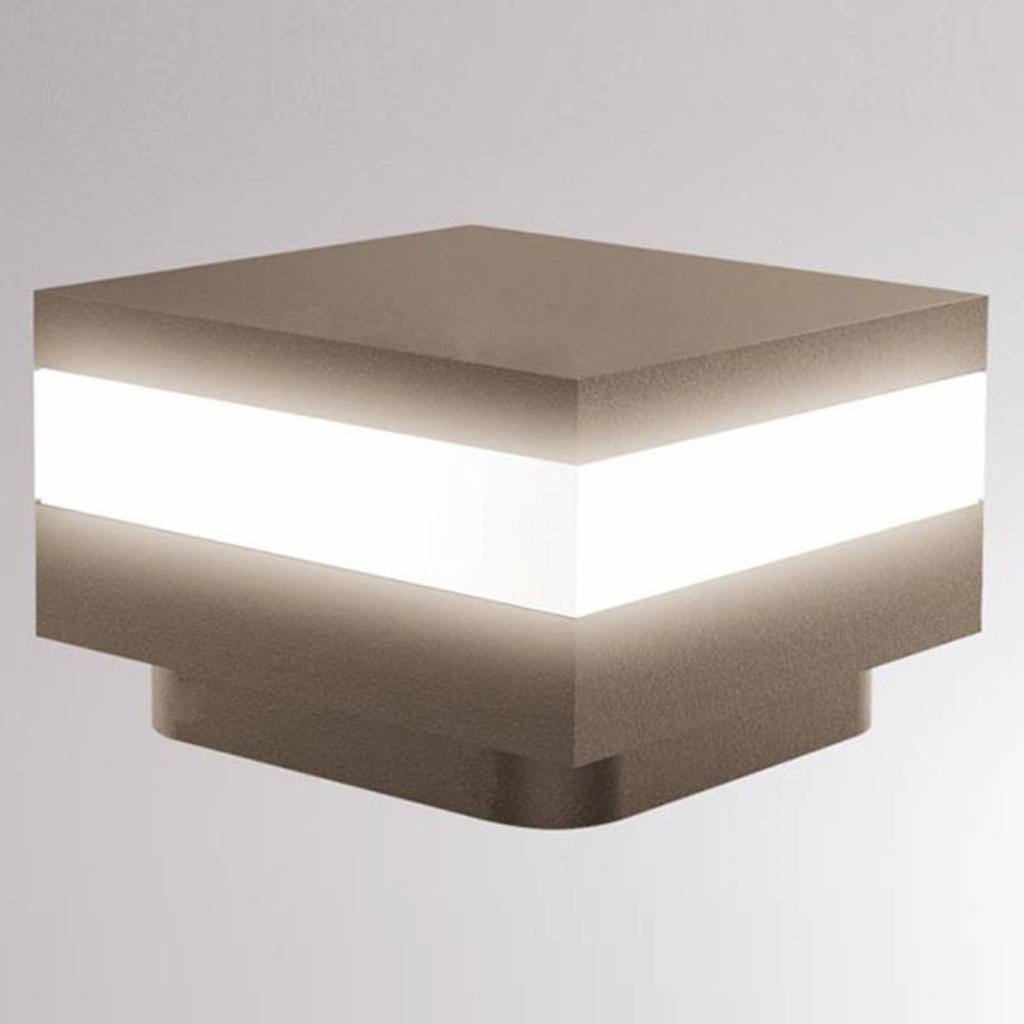 Produktové foto LOUM LOUM Mash LED soklové světlo IP65 terra