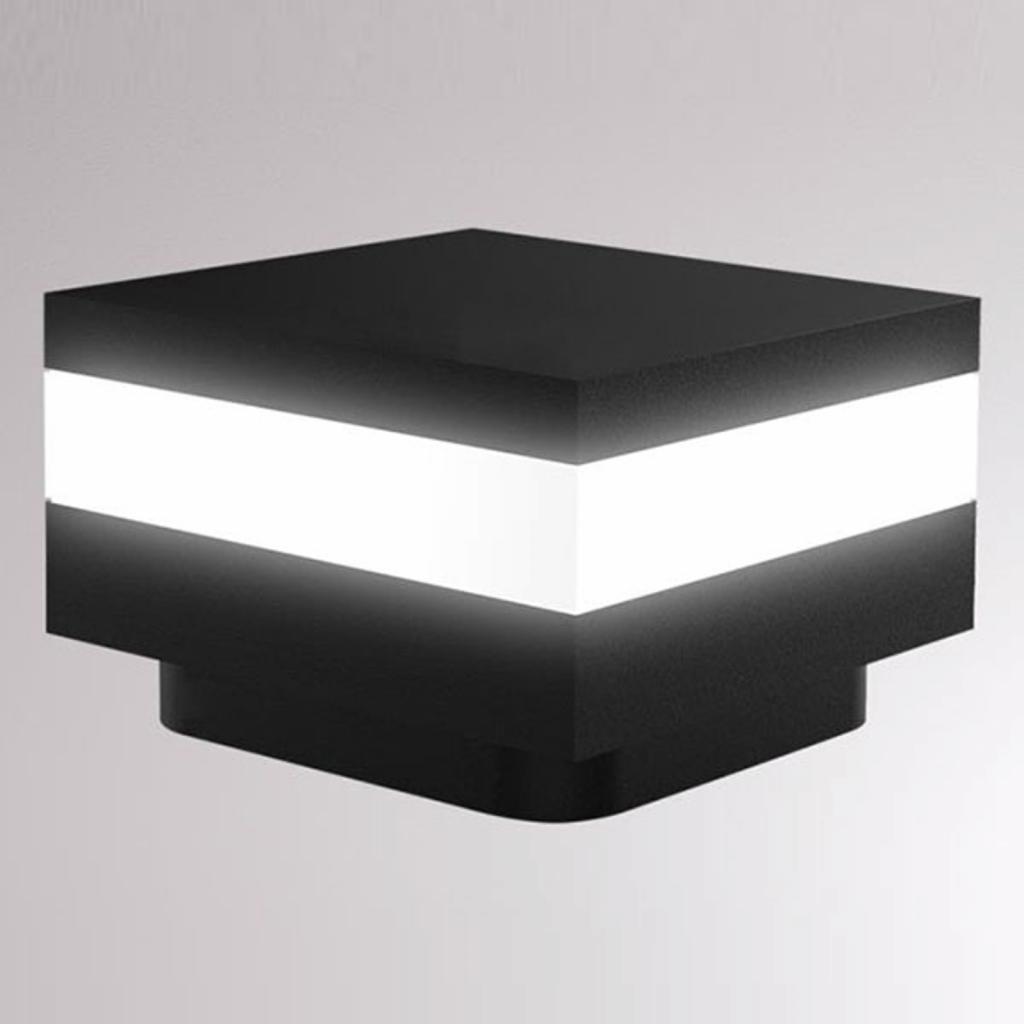 Produktové foto LOUM LOUM Mash LED soklové světlo IP65 černá