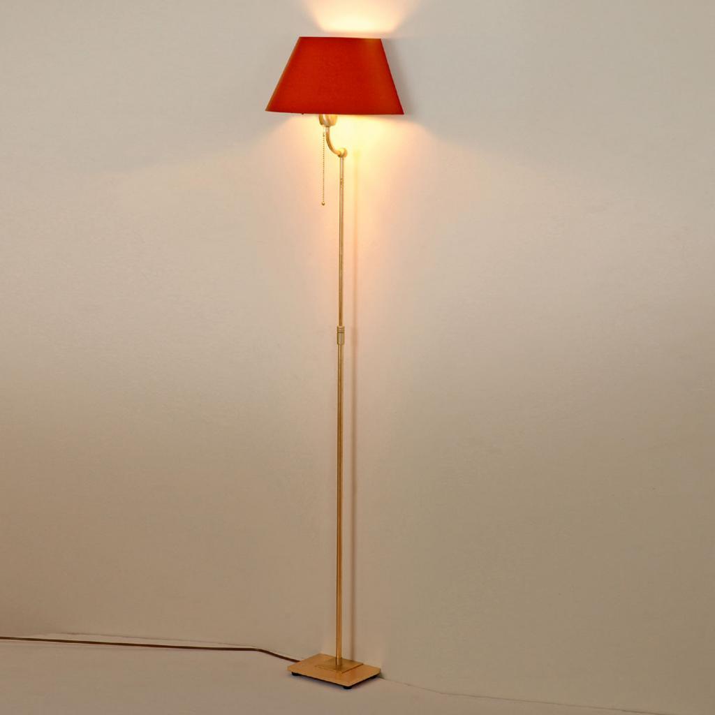 Produktové foto Menzel Menzel Live Elegant stojací lampa červené stínidlo