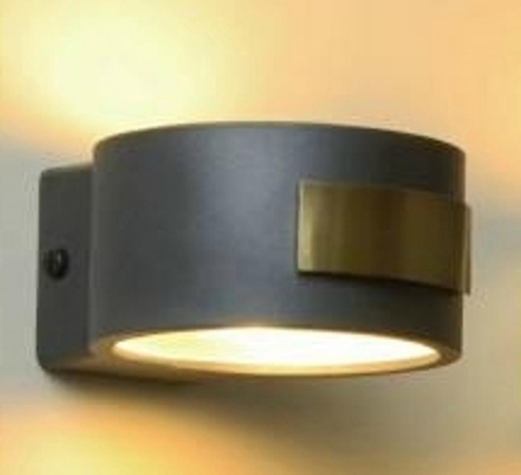 Produktové foto Menzel Menzel Small nástěnné světlo rezavě hnědá/zlatá