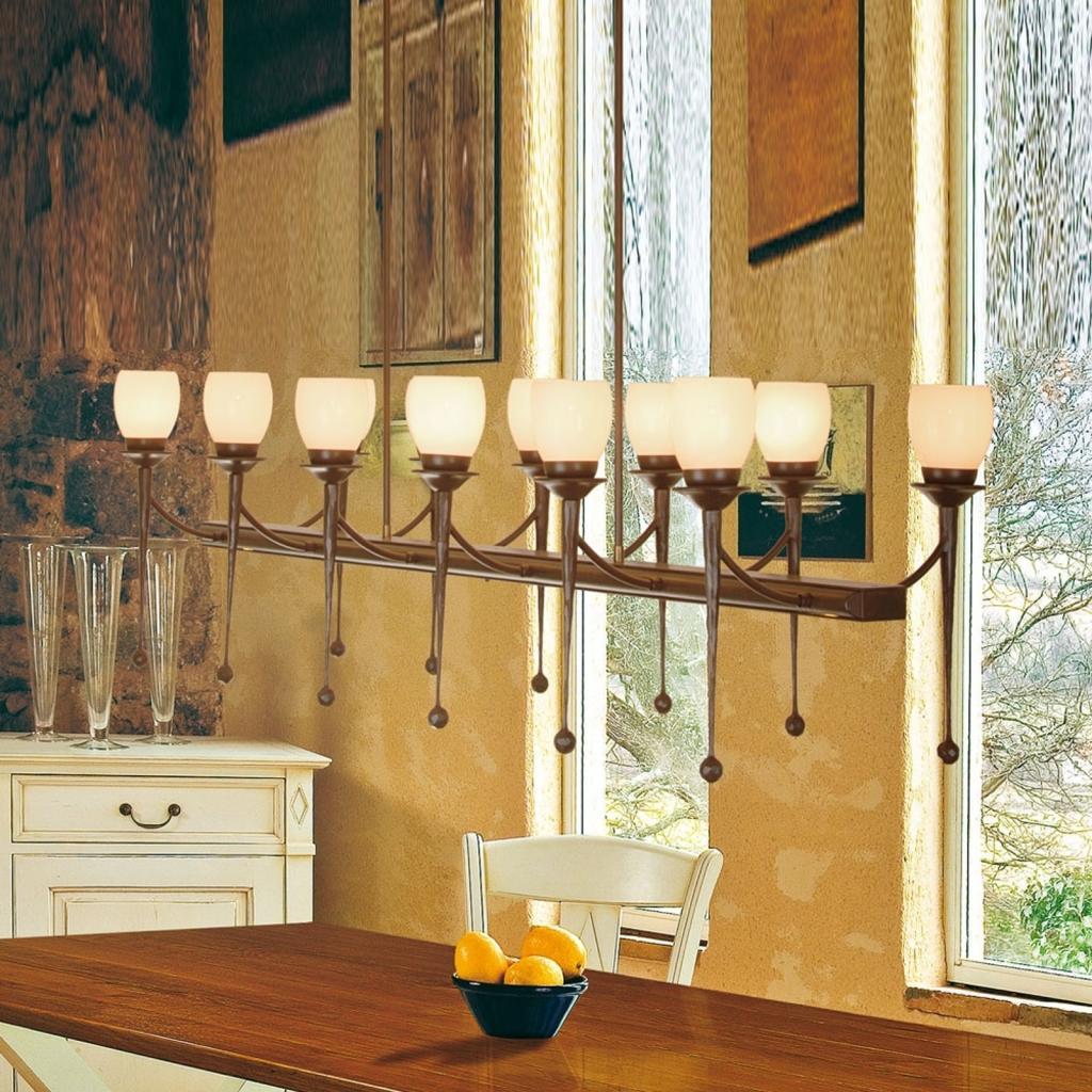 Produktové foto Menzel Menzel Chateau - závěsné světlo 12 zdrojů