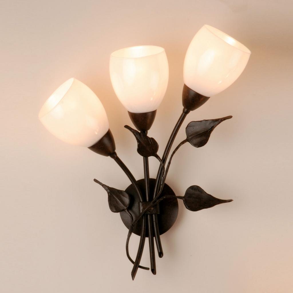 Produktové foto Menzel Menzel Chalet - květinové nástěnné světlo