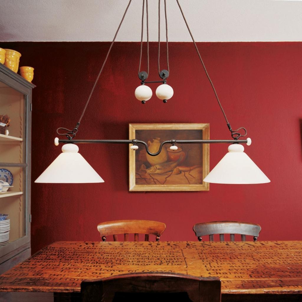 Produktové foto Menzel Menzel Provence La Maison závěsné světlo výsuvné