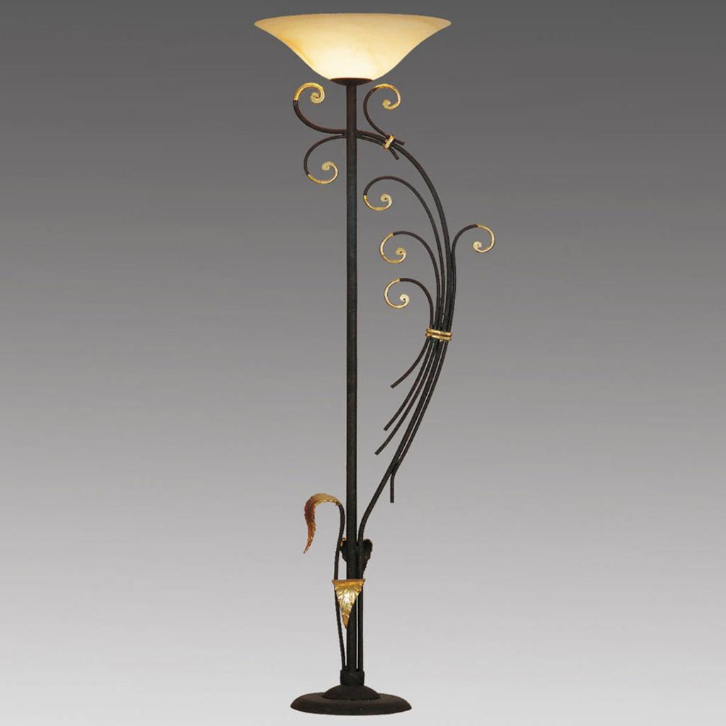 Produktové foto Menzel Menzel Florence stojací lampa pozlacená ozdobná