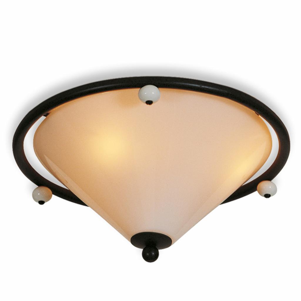 Produktové foto Menzel Menzel Provence stropní světlo, kouřové sklo