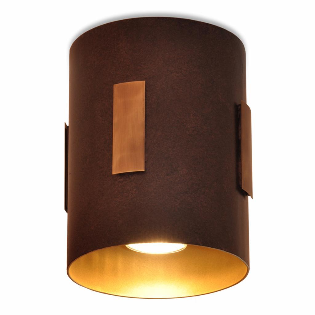 Produktové foto Menzel Menzel Solo stropní světlo hnědá/černá/zlatá