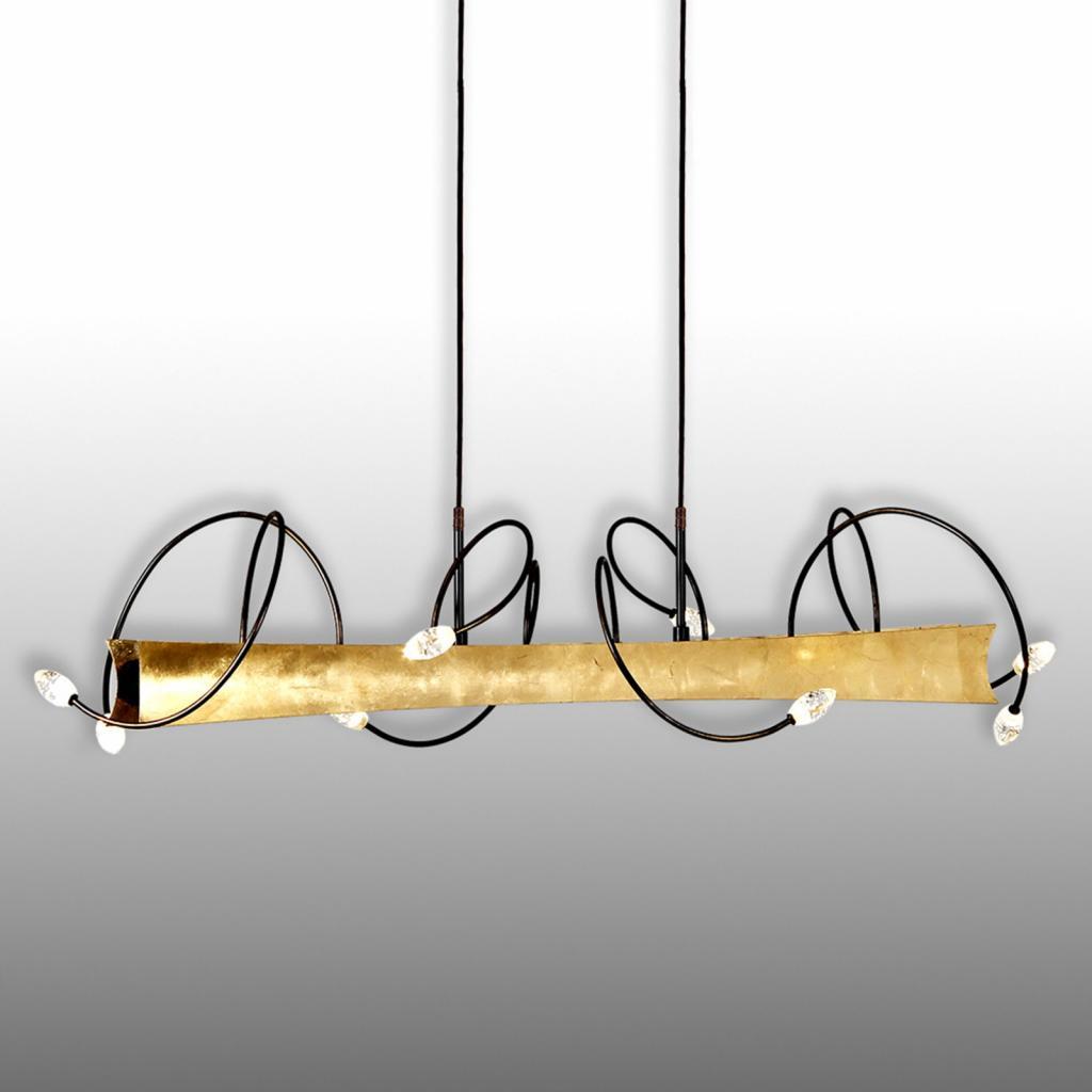 Produktové foto Menzel Menzel Donna - LED závěsné světlo pozlacená