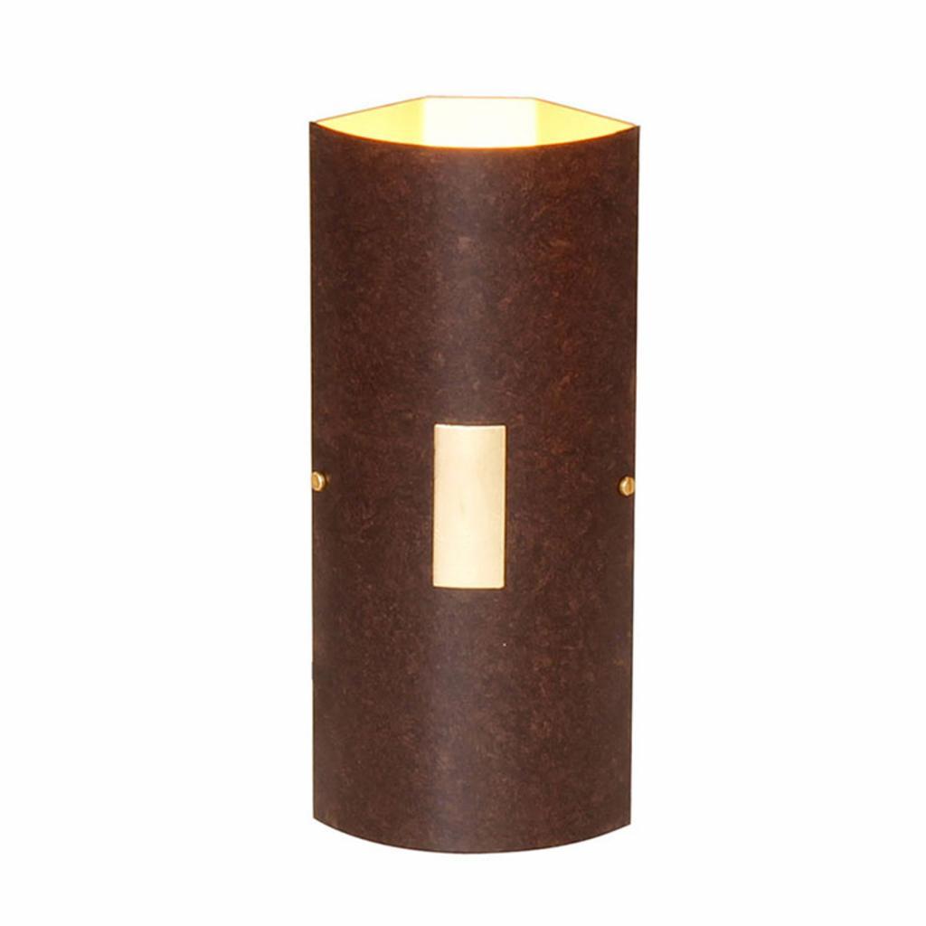 Produktové foto Menzel Menzel Solo nástěnné světlo Ecke hnědá-černá/zlatá