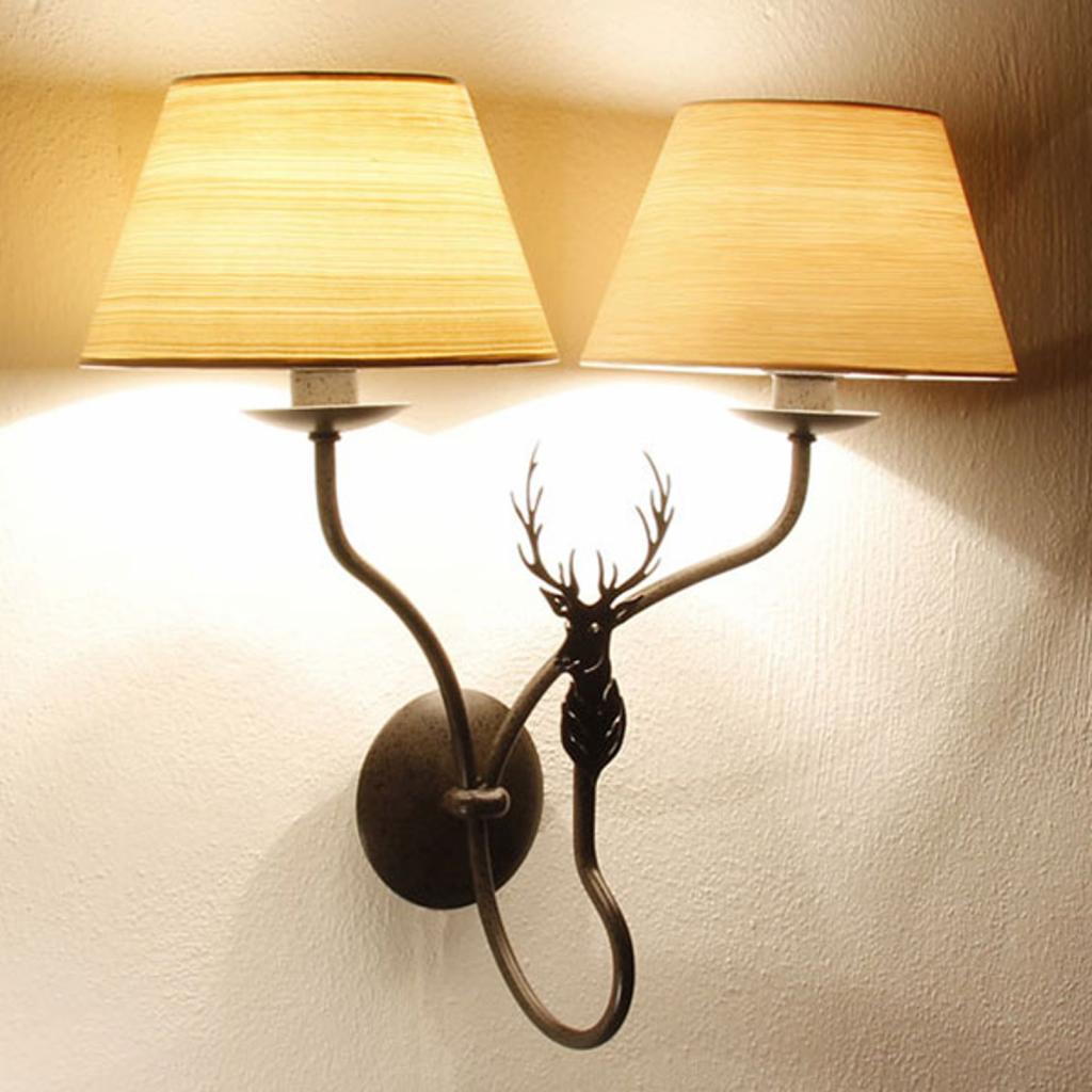 Produktové foto Menzel Menzel TH7362 nástěnné světlo dva zdroje, jelen
