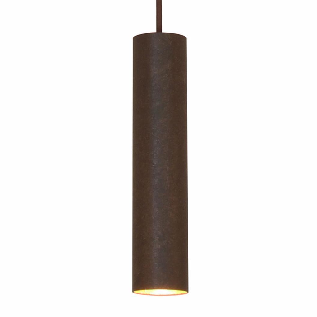 Produktové foto Menzel Menzel Solo Pipe závěsné světlo, hnědá-černá