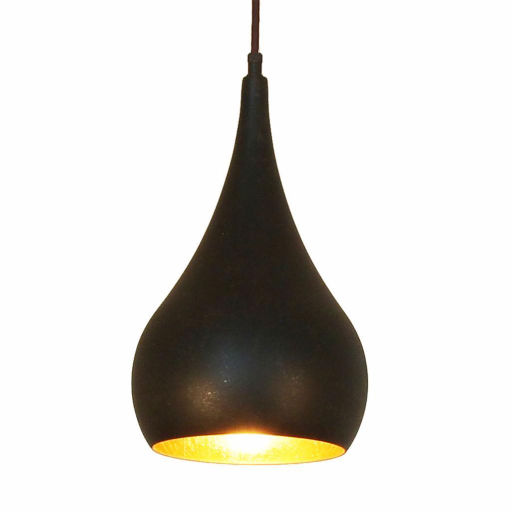 Produktové foto Menzel Menzel Solo závěsné světlo cibule hnědočerná 16cm