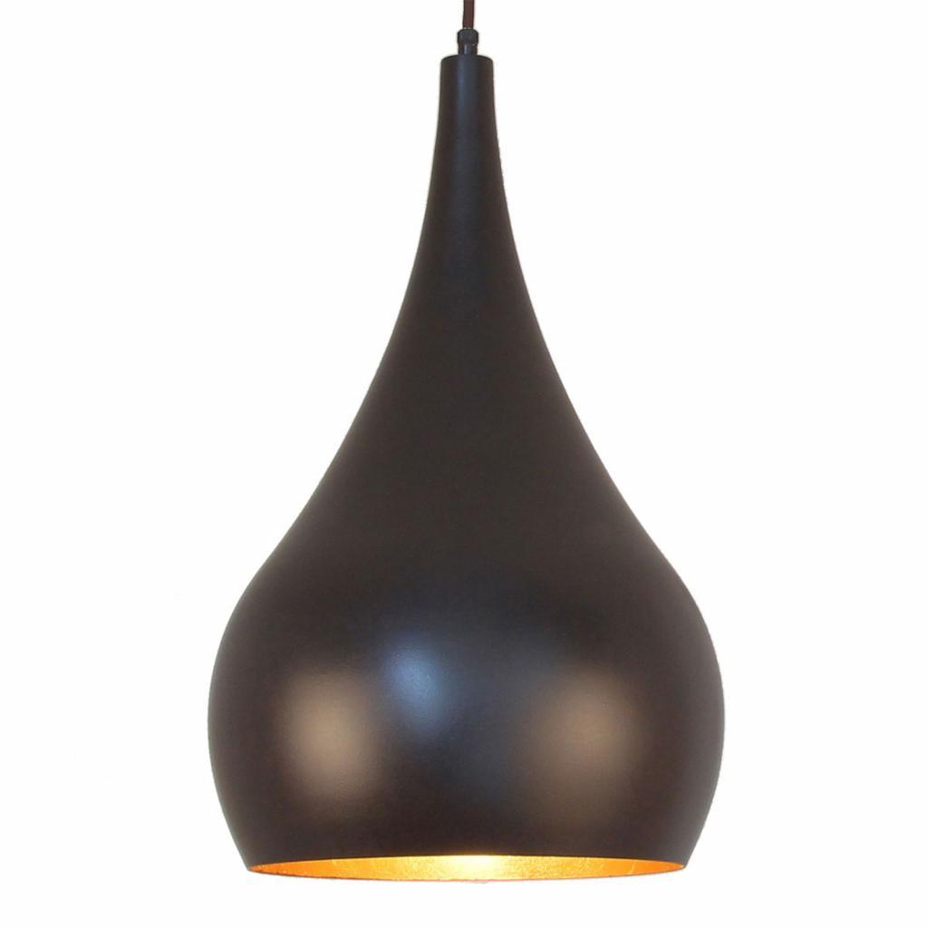 Produktové foto Menzel Menzel Solo závěsné světlo cibule hnědočerná 30cm