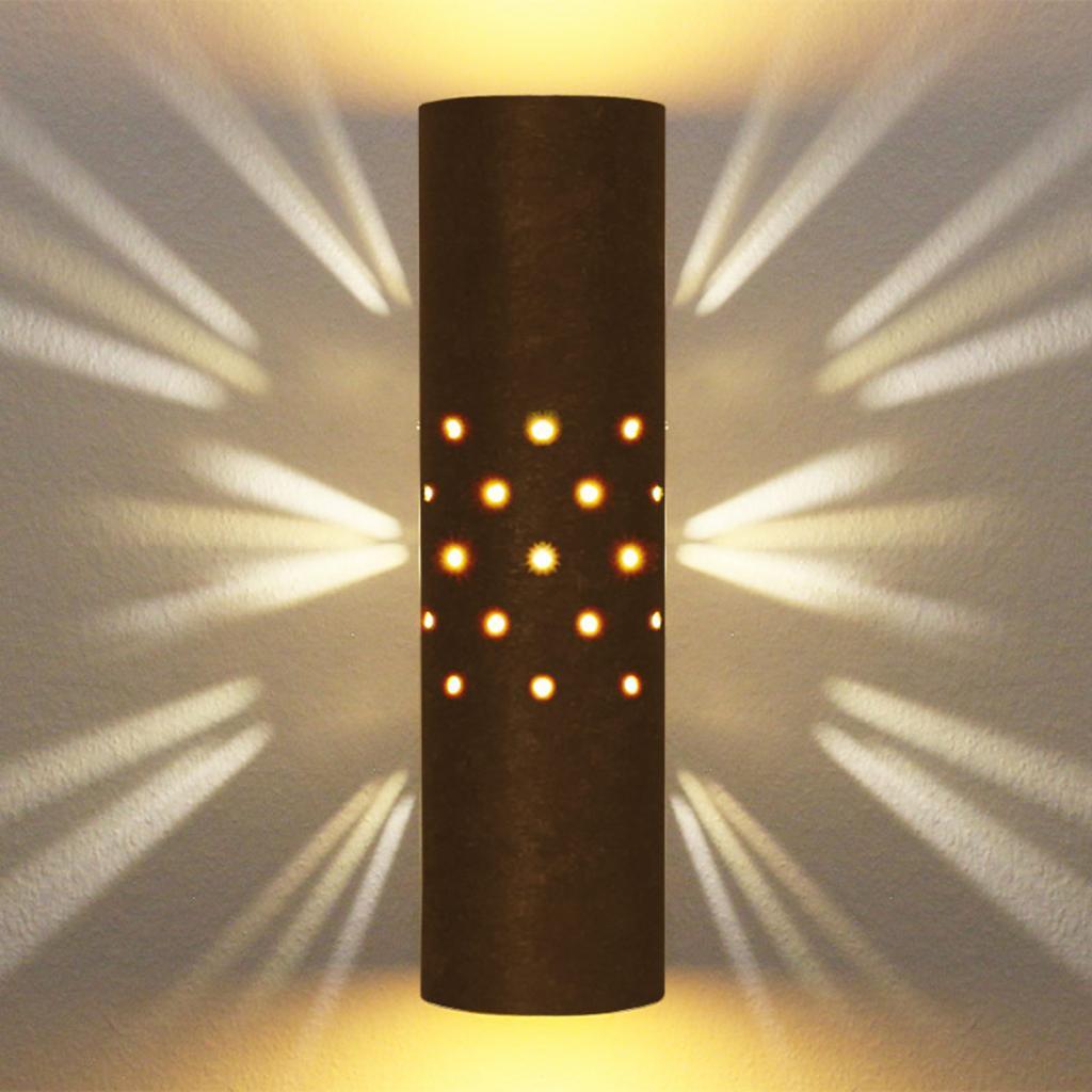 Produktové foto Menzel Menzel Solo nástěnné světlo hnědá-černá