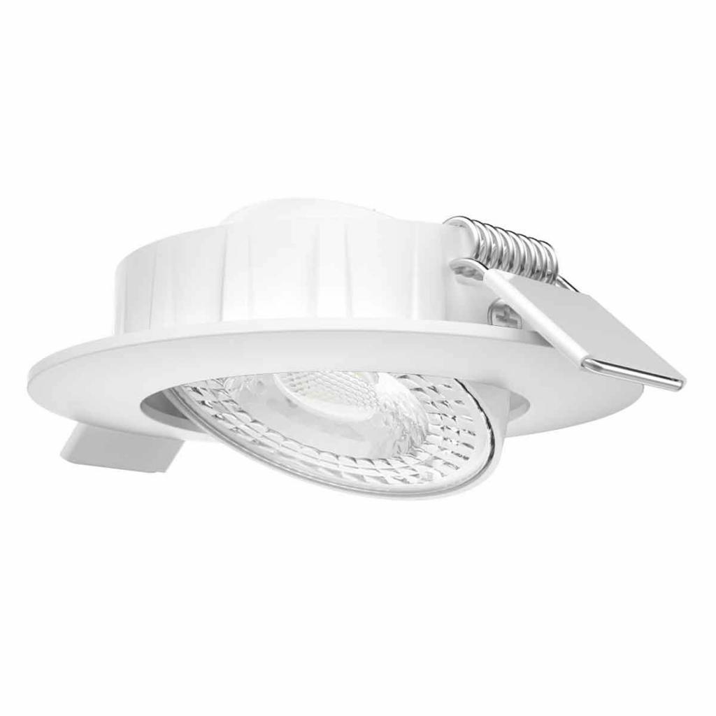 Produktové foto MEGATRON LED podhledové světlo Slimo, otočné, bílá