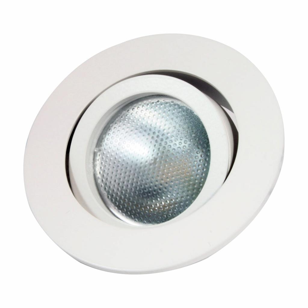 Produktové foto MEGATRON LED vestavný spot Decoclic GU10/GU5.3, kulatý bílá