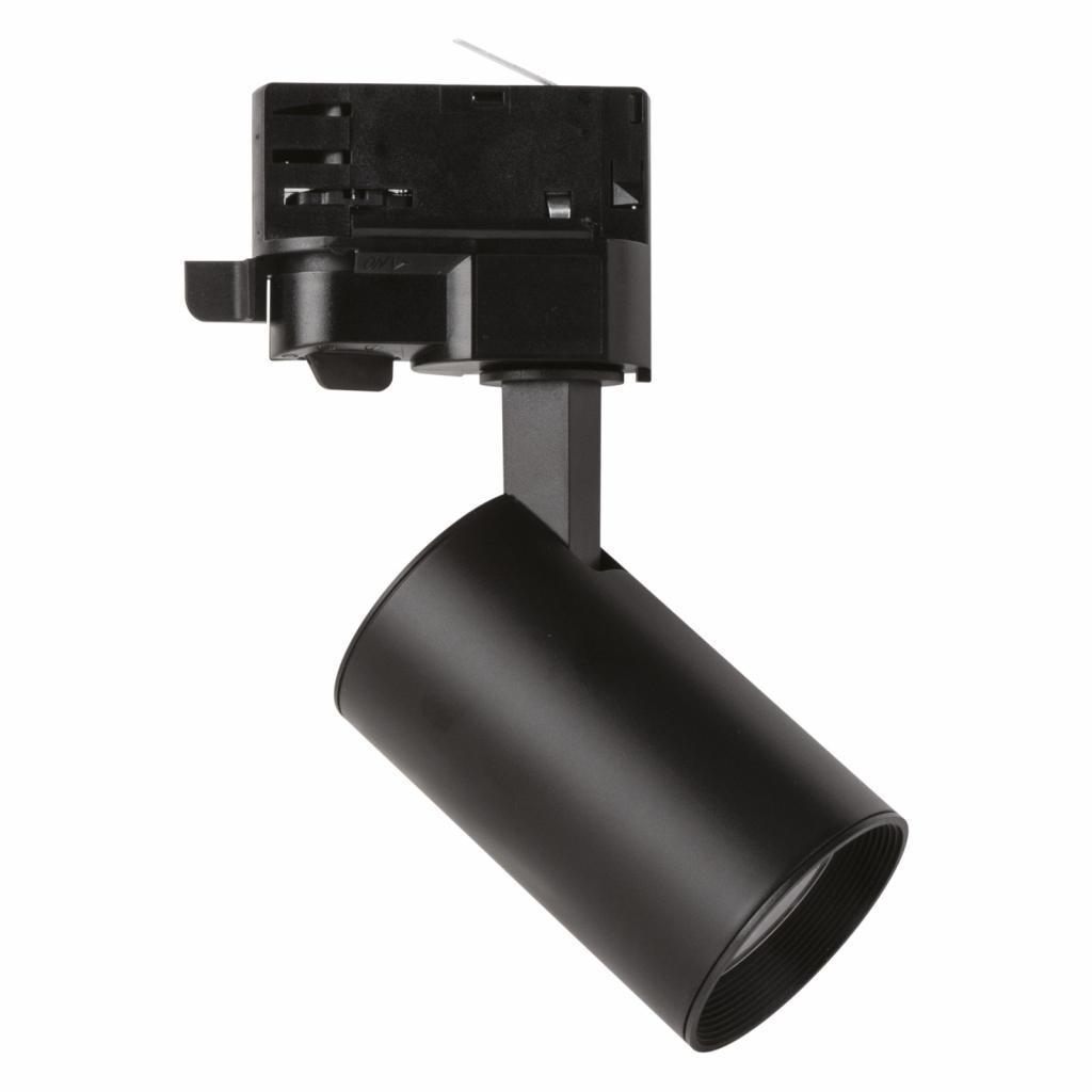 Produktové foto Megaman LED spot MarcoMini 3fázová kolejnice černá 2800K