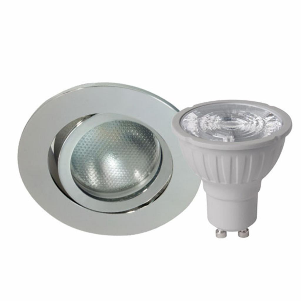 Produktové foto MEGATRON Megaman DecoclicSet spot GU10 5,2W stříbrná
