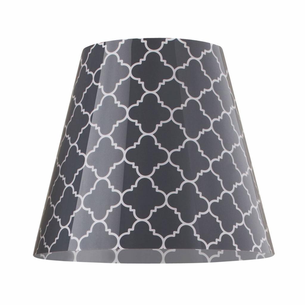 Produktové foto Moree Stojací lampa Swap Outdoor, grey quatrefoil