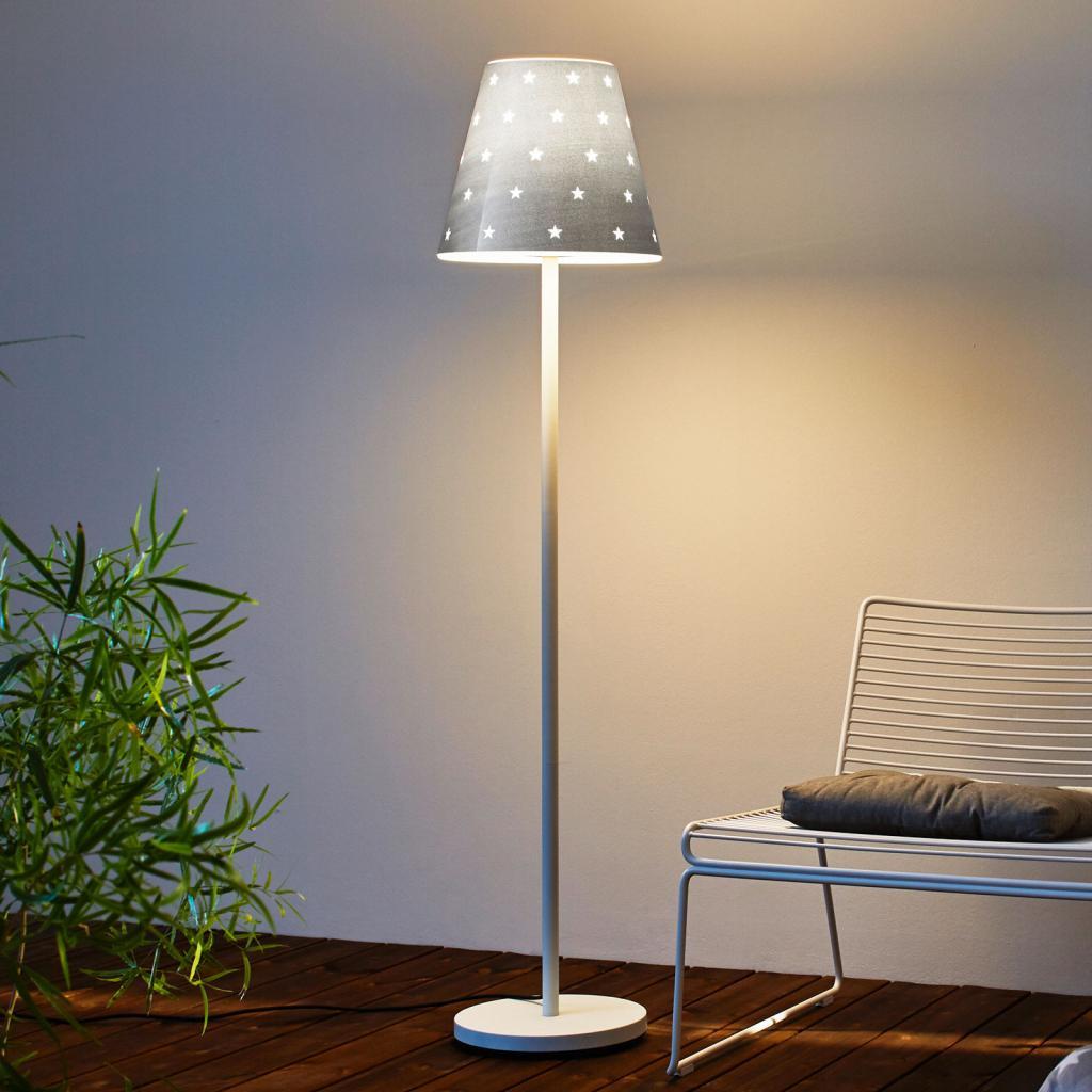 Produktové foto Moree Stojací lampa Swap Outdoor, silver stars