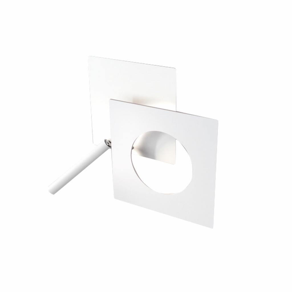 Produktové foto ICONE ICONE LED nástěnné světlo Petra 21.L, bílá