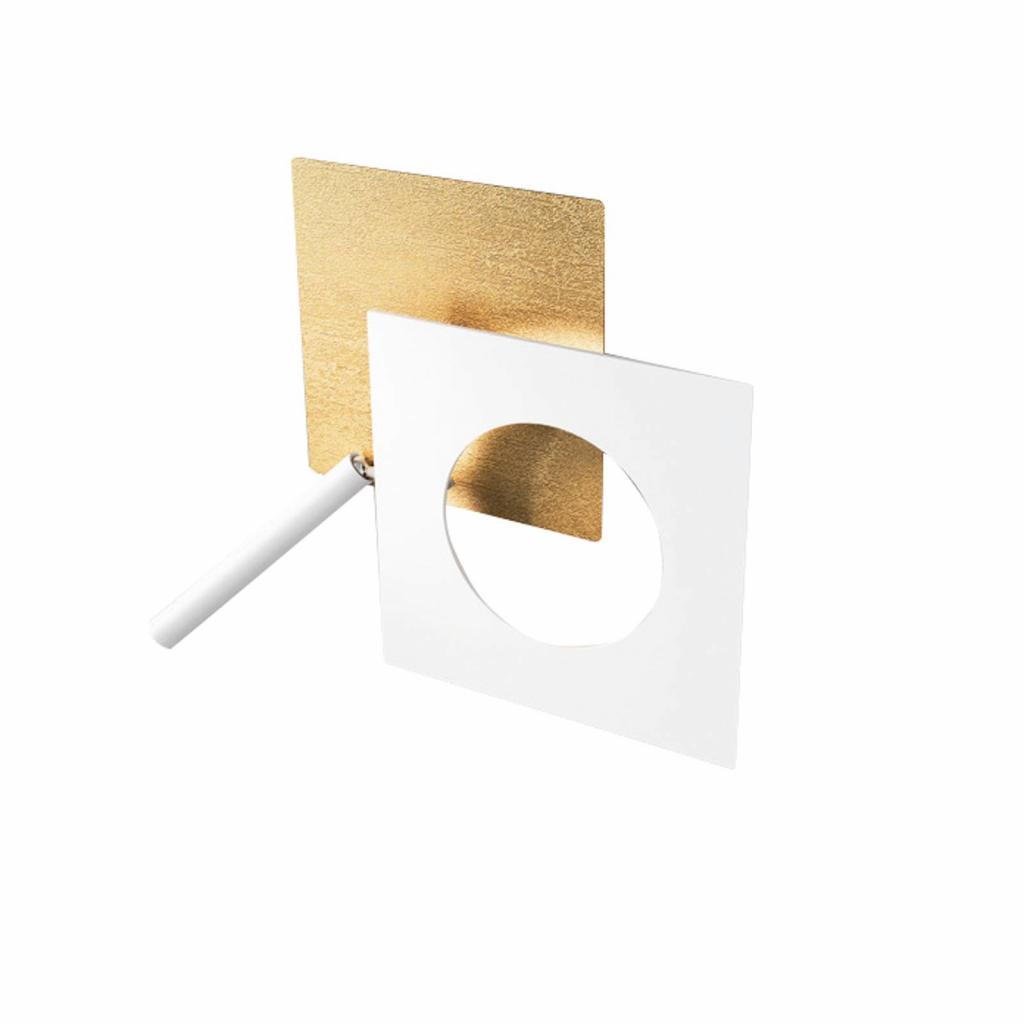 Produktové foto ICONE ICONE LED nástěnné světlo Petra 21.L, zlatá, bílá