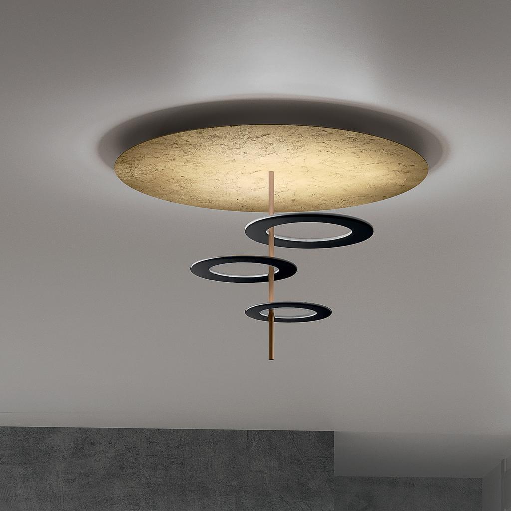Produktové foto ICONE ICONE LED stropní světlo Hula Hoop P3 - 3 desky