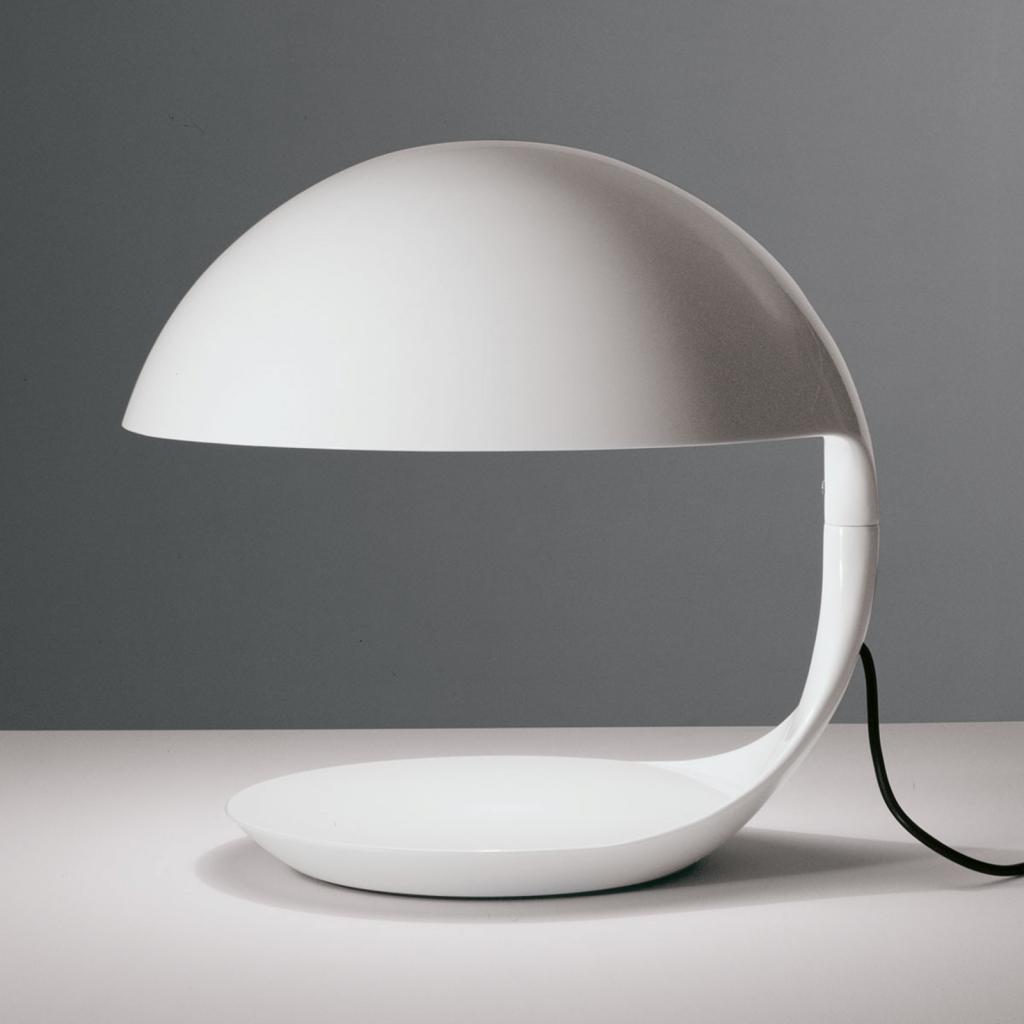 Produktové foto Martinelli Luce Martinelli Luce Cobra - retro stolní lampa, bílá