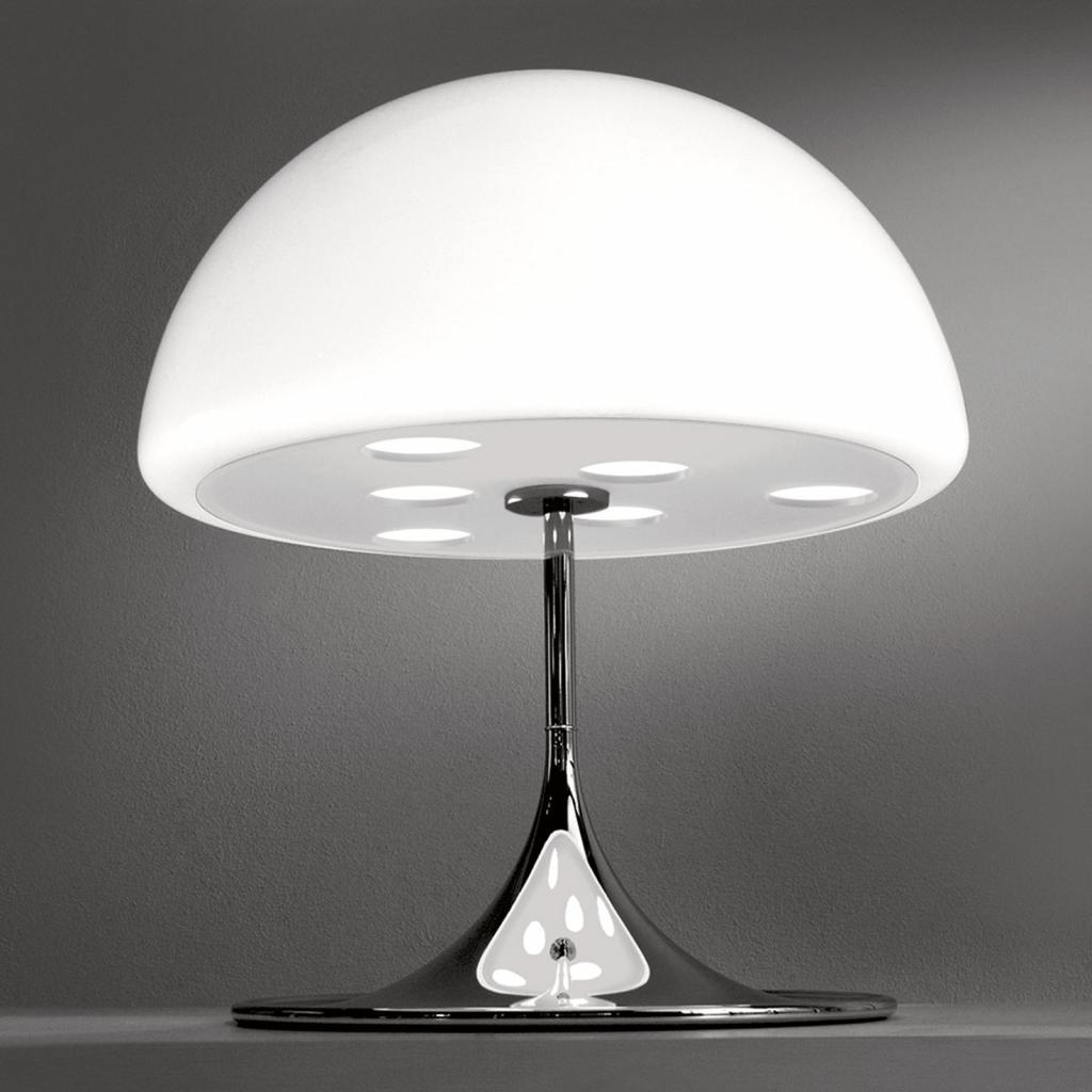 Produktové foto Martinelli Luce Martinelli Luce Mico - stolní lampa, 60 cm, bílá