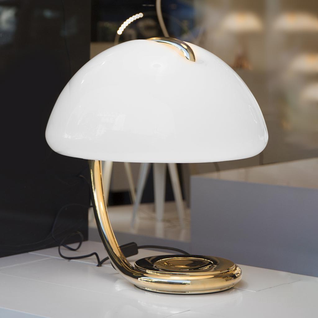 Produktové foto Martinelli Luce Martinelli Luce Serpente - stolní lampa, zlatá