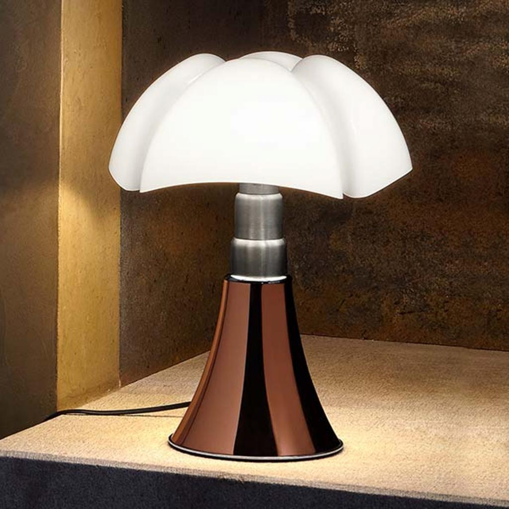Produktové foto Martinelli Luce Martinelli Luce Minipipistrello stolní lampa měď