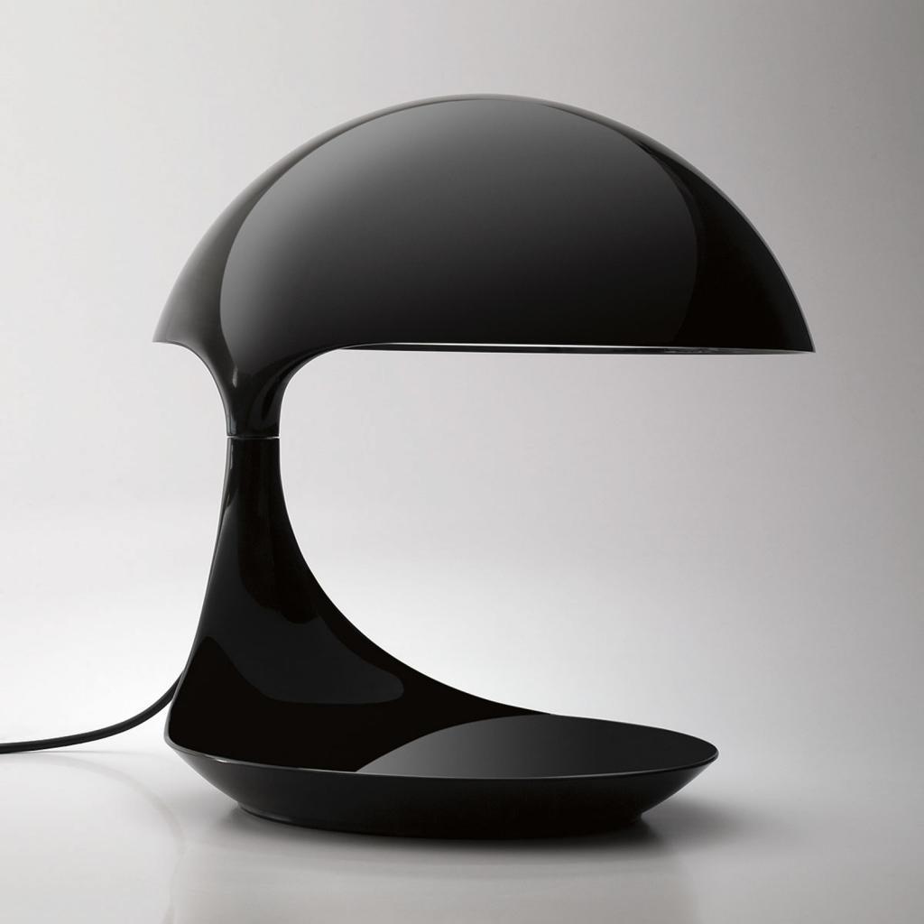 Produktové foto Martinelli Luce Martinelli Luce Cobra - Retro-stolní lampa černá