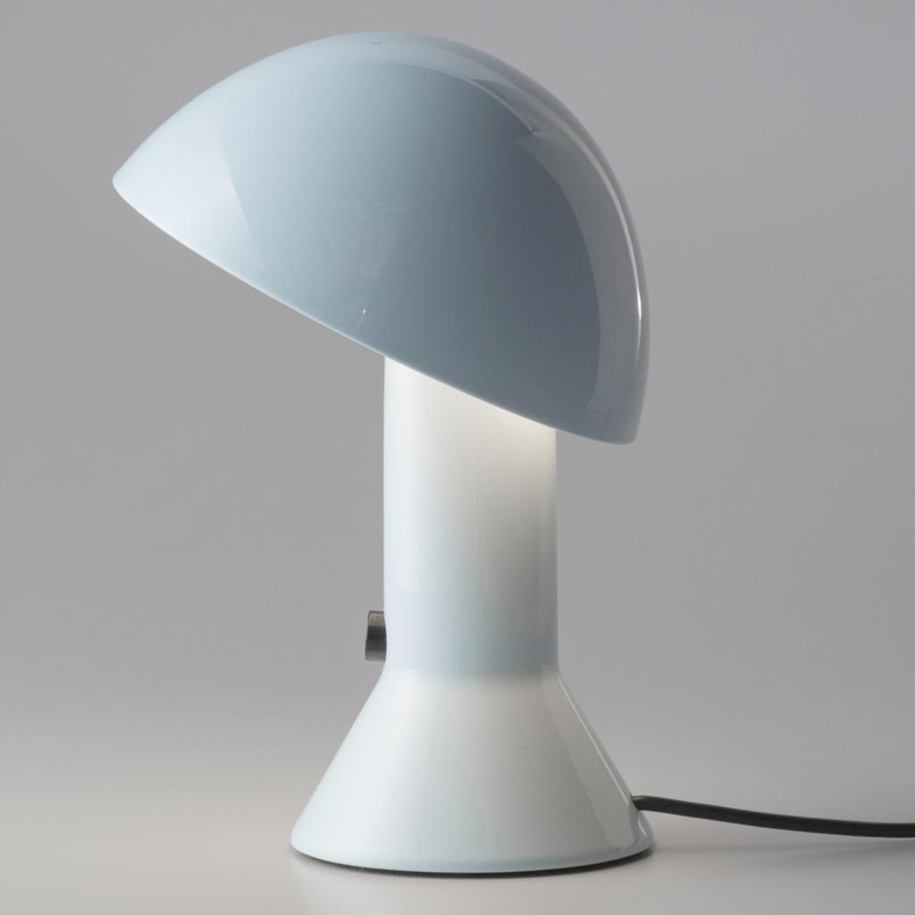 Produktové foto Martinelli Luce Martinelli Luce Elmetto - stolní lampa světlemodrá