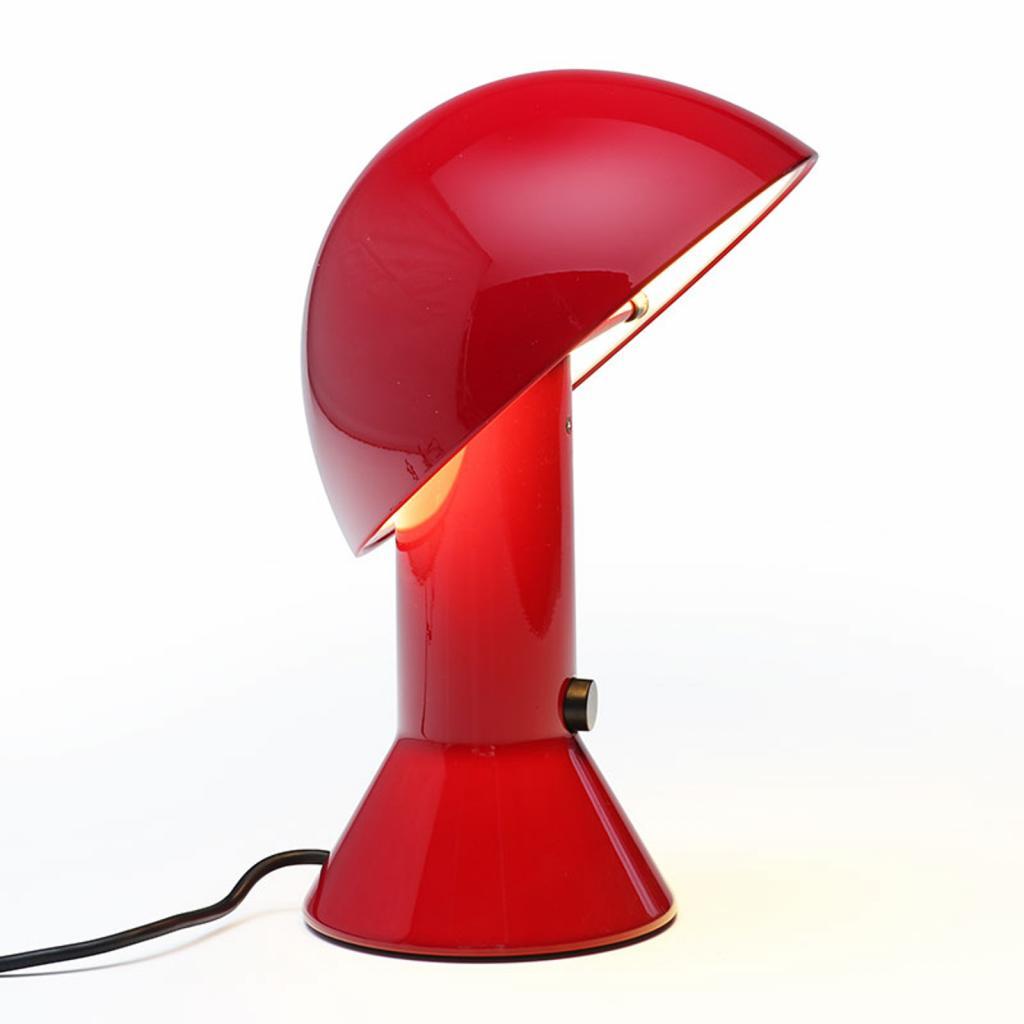 Produktové foto Martinelli Luce Martinelli Luce Elmetto - stolní lampa, rubínová