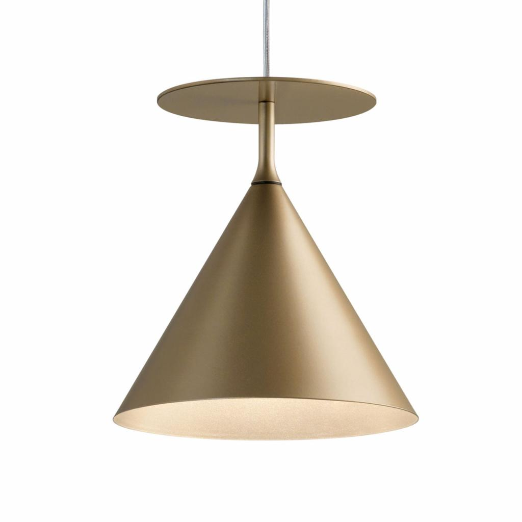 Produktové foto MODO LUCE Modo Luce ABC Single C závěsné světlo matná zlatá