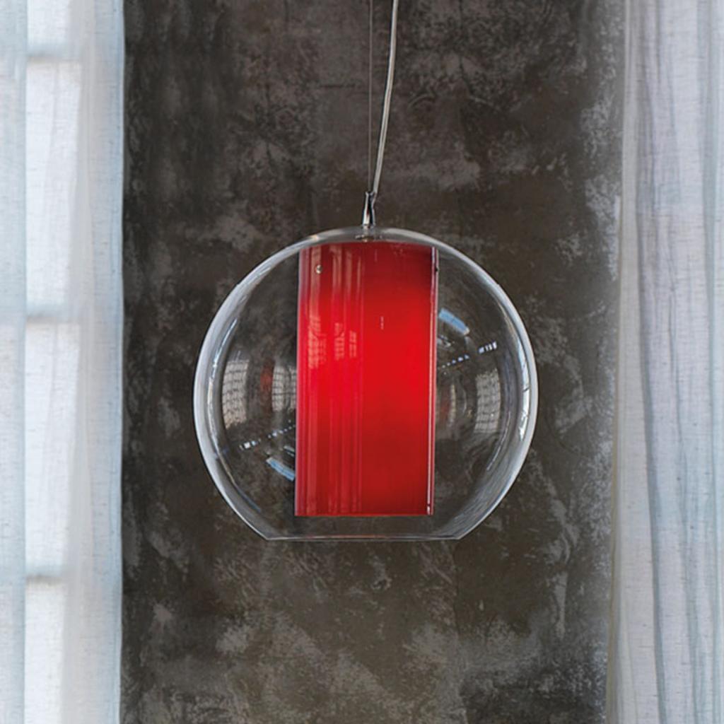Produktové foto MODO LUCE Modo Luce Bolla závěsné světlo plast rot Ø 50 cm