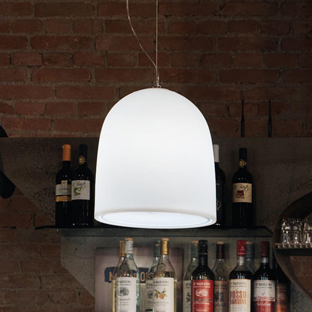 Produktové foto MODO LUCE Modo Luce Campanone závěsné světlo Ø 33 cm bílá