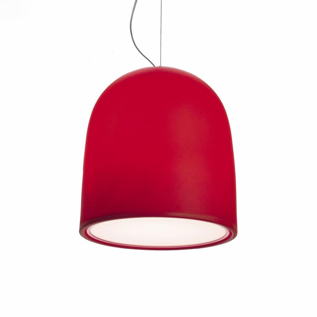 Produktové foto MODO LUCE Modo Luce Campanone závěsné světlo Ø 33 cm červená