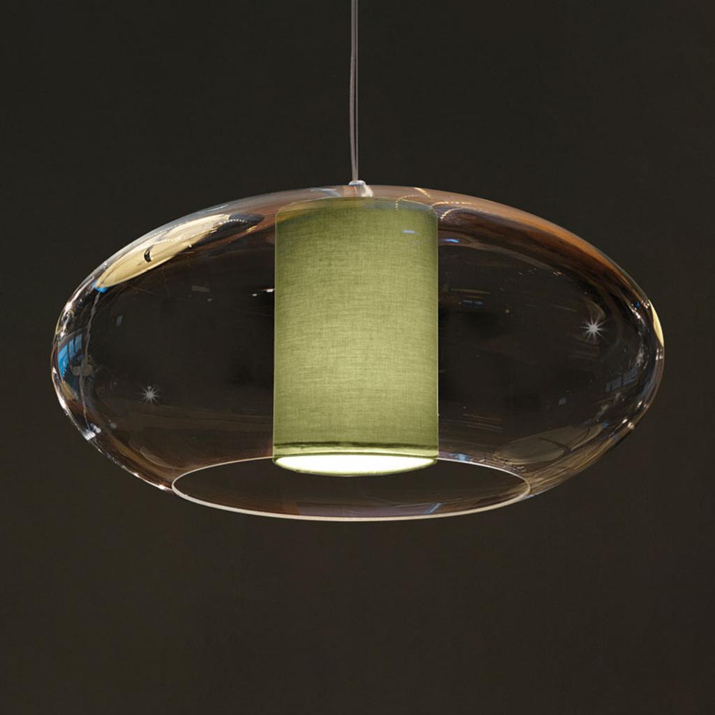 Produktové foto MODO LUCE Modo Luce Ellisse závěsné světlo Ø 60 cm zelená