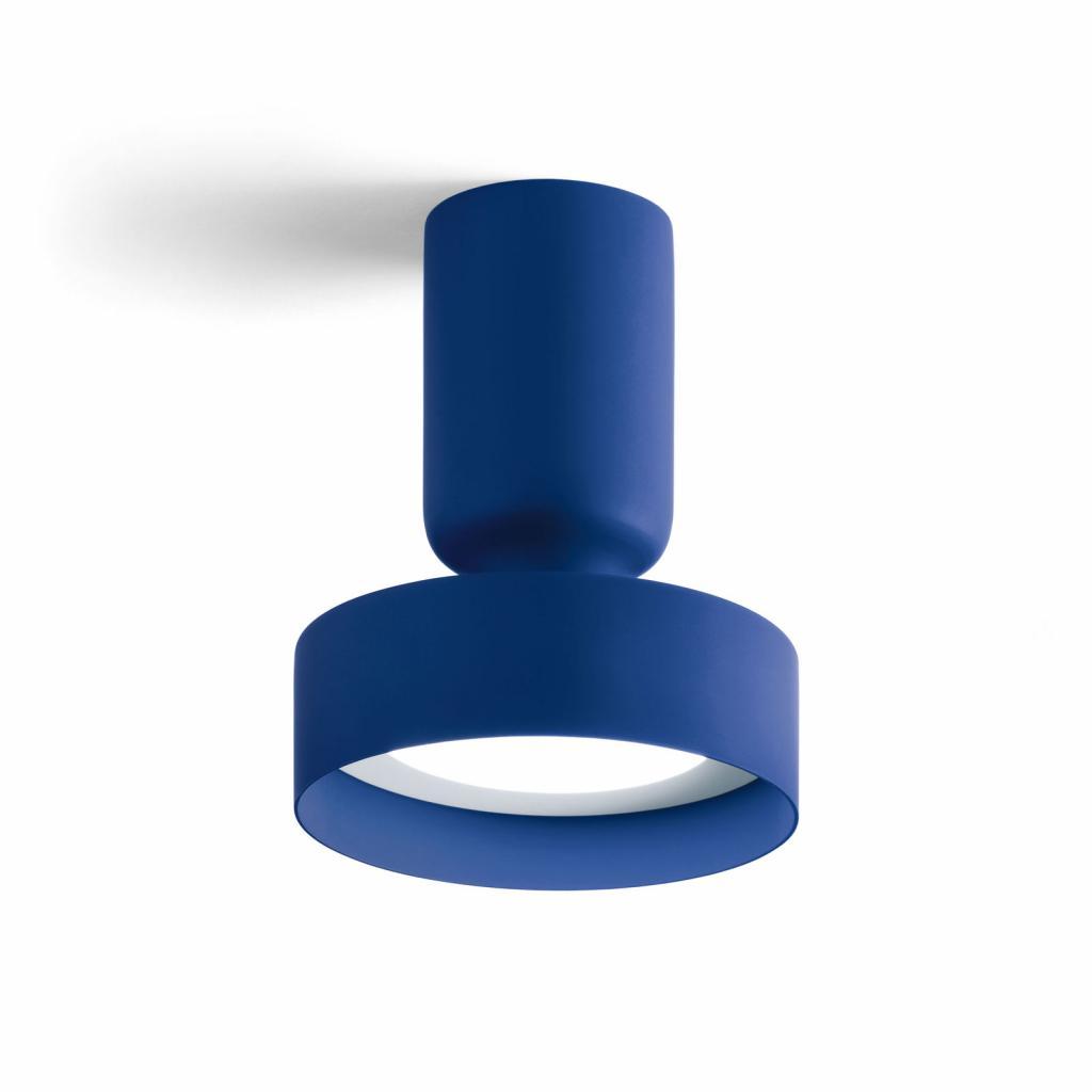 Produktové foto MODO LUCE Modo Luce Hammer stropní světlo Ø 18cm tmavě modrá