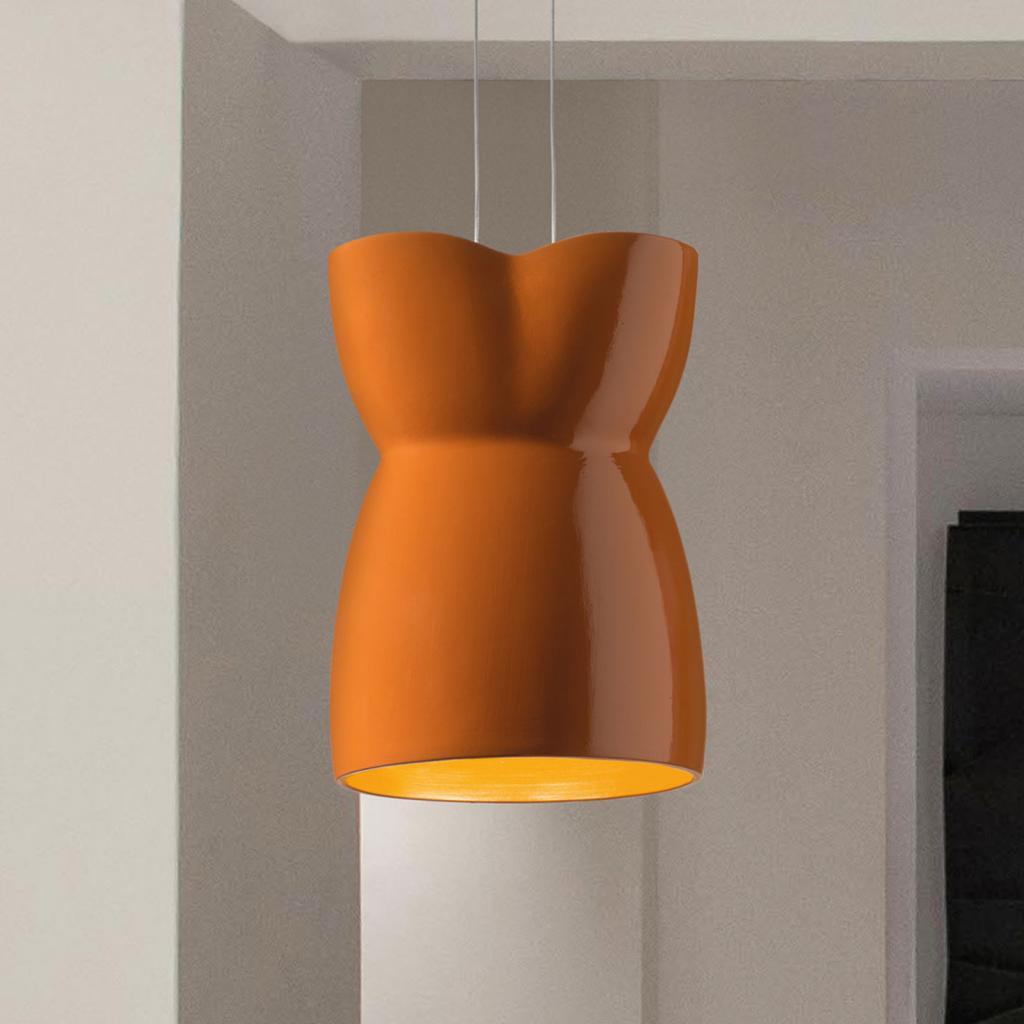 Produktové foto MODO LUCE Modo Luce Pin up závěsné světlo karamelově hnědá
