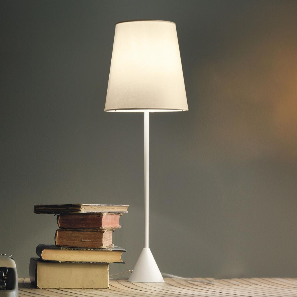 Produktové foto MODO LUCE Modo Luce Lucilla stolní lampa Ø 24cm slonovinová