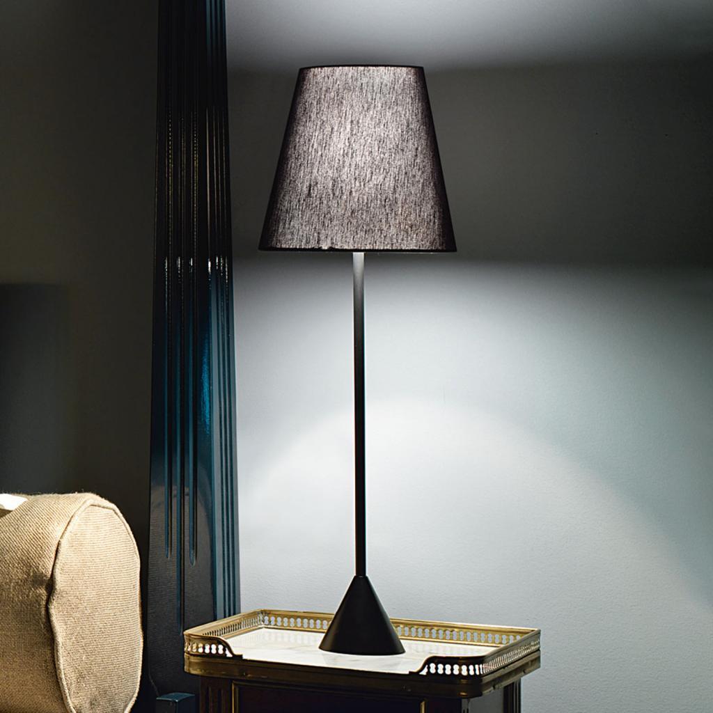 Produktové foto MODO LUCE Modo Luce Lucilla stolní lampa Ø 24cm černá