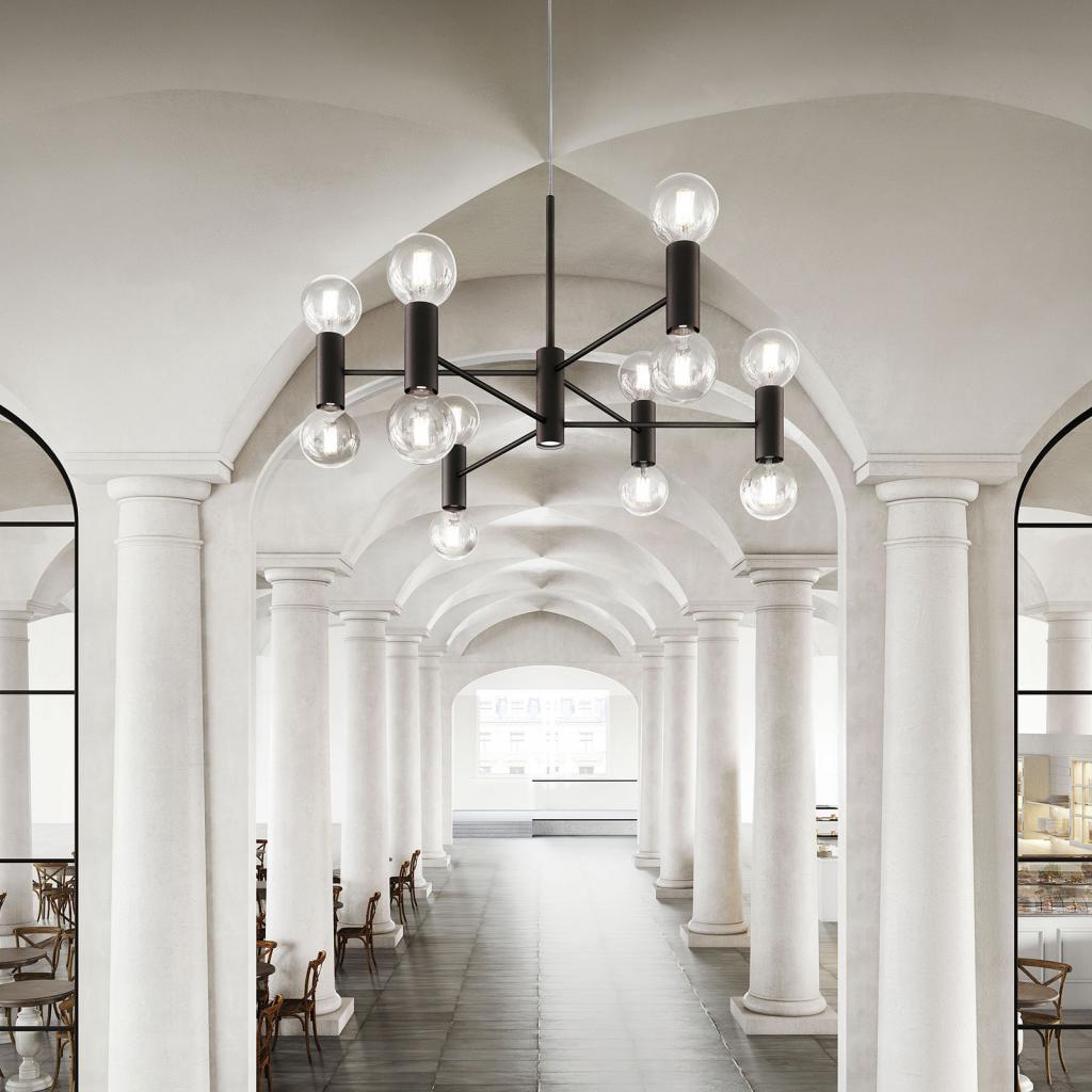 Produktové foto MODO LUCE Modo Luce Chandelier závěsné světlo 13 107cm černá