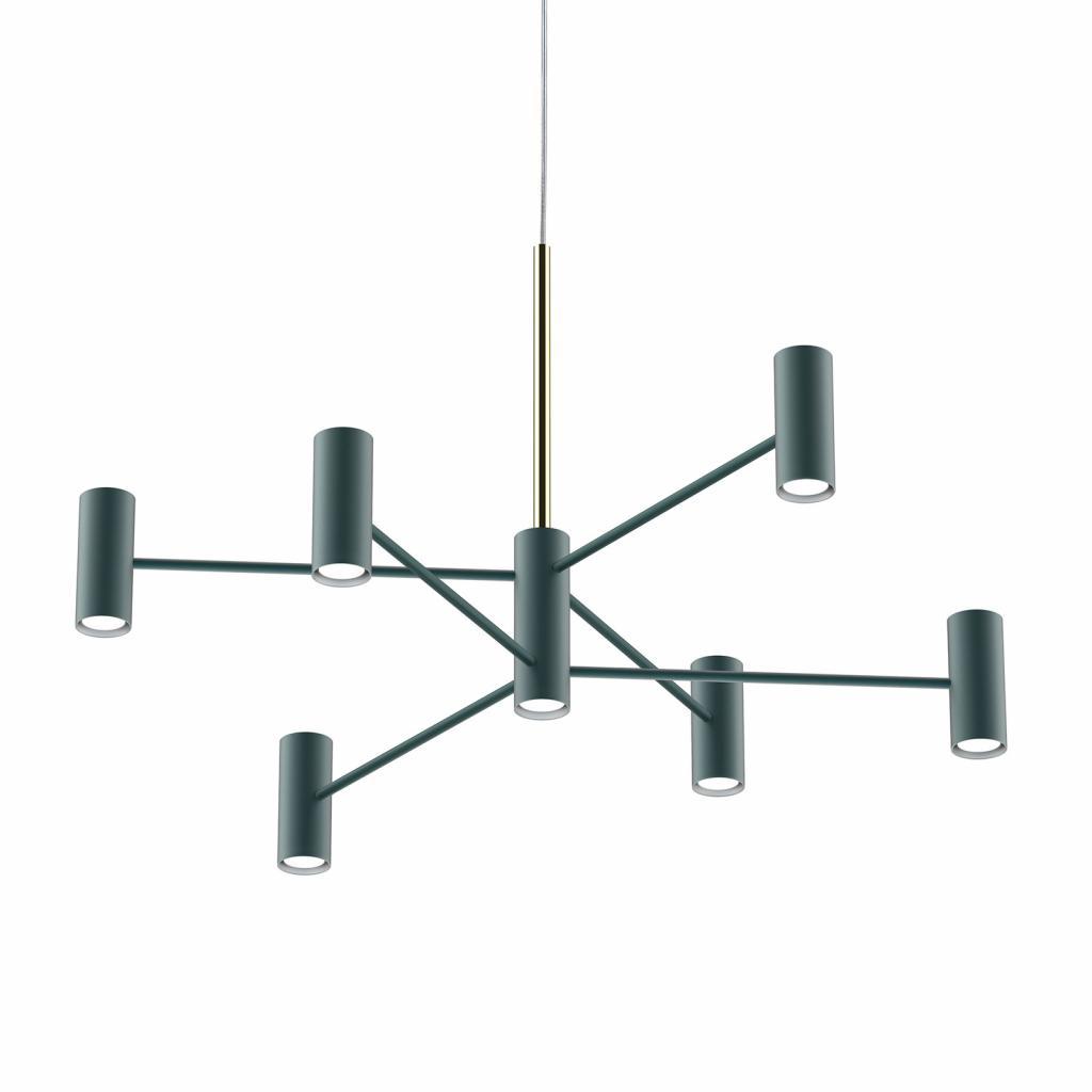 Produktové foto MODO LUCE Modo Luce Chandelier závěsné světlo 13 100cm černá