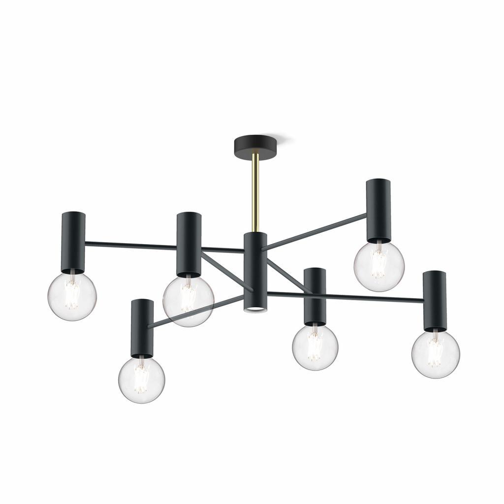 Produktové foto MODO LUCE Modo Luce Chandelier stropní světlo 13 107cm černá